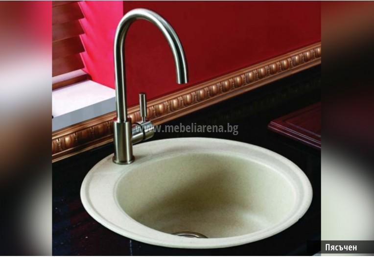 кръгла мивка